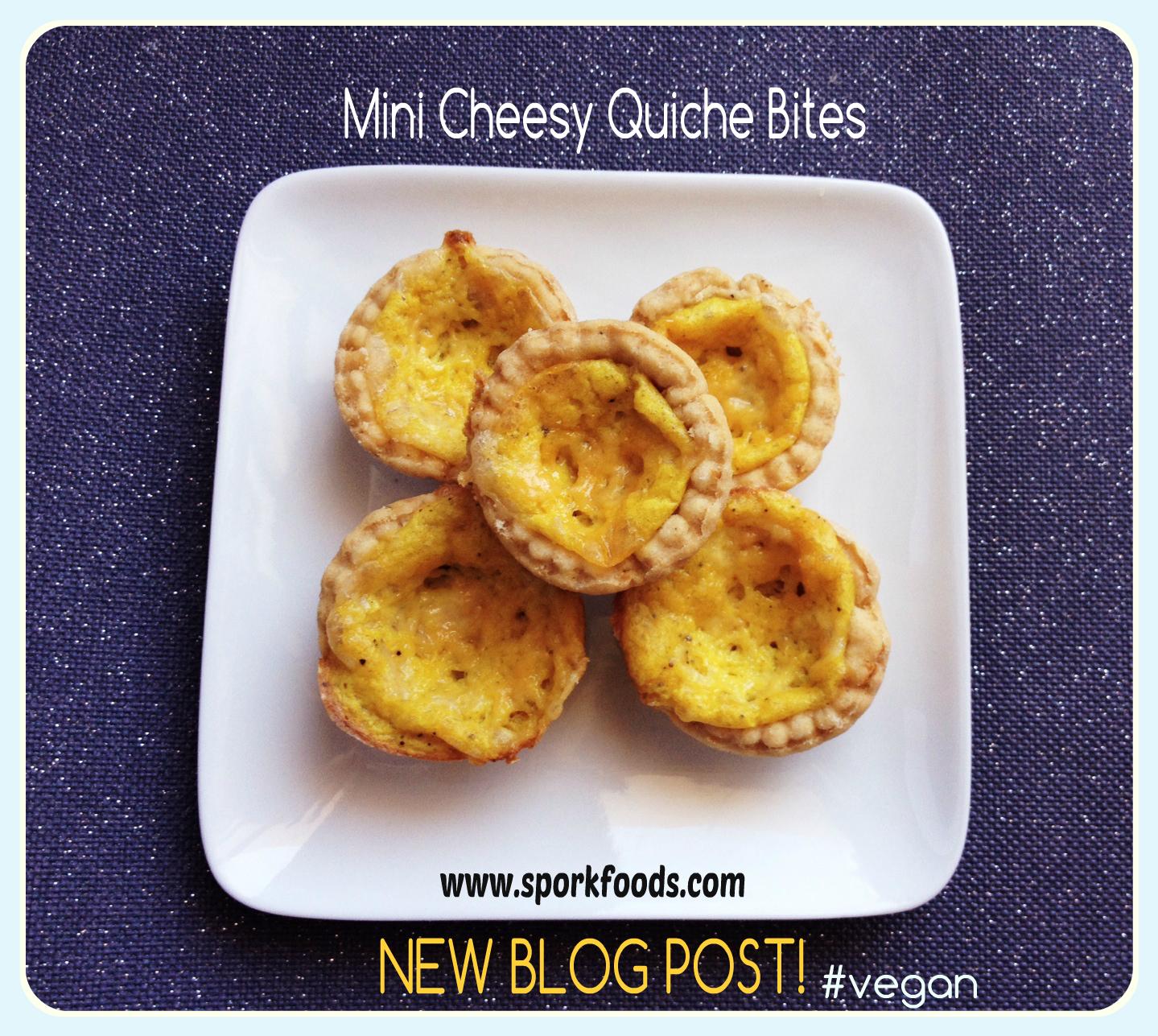 Mini Cheesy Quiche Bites! | sporkfoods